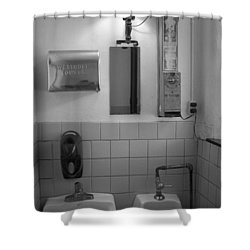 Mens Room Shower Curtain