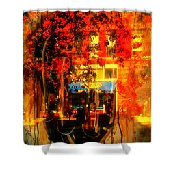Mental Void Shower Curtain by Kelly Awad