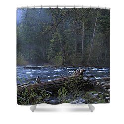 Merced River Shower Curtain by Duncan Selby