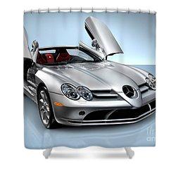 Mercedes Benz Slr Mclaren Shower Curtain