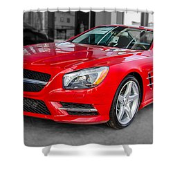 Mercedes Sl550   7d01718 Shower Curtain