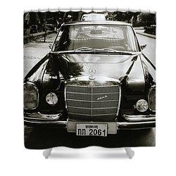 Mercedez Benz Shower Curtain