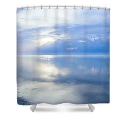 Merging Horizons Shower Curtain