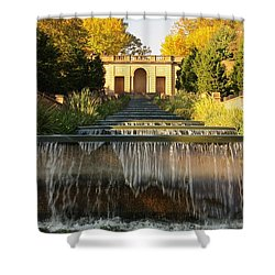 Meridian Hill Park Waterfall Shower Curtain