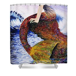 Mermaid Love Shower Curtain