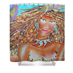 Mermaid Queen Shower Curtain