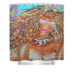 Mermaid Queen Shower Curtain