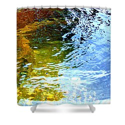 Mermaids Den Shower Curtain