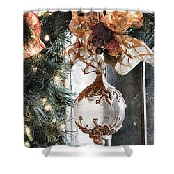 Merry Christmas Shower Curtain by Rory Sagner