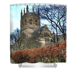 Merton College Chapel Shower Curtain