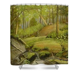 Merville Bc  Shower Curtain