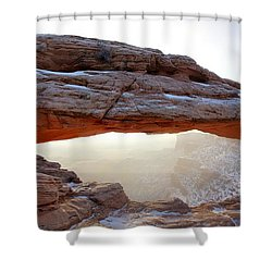 Mesa Arch Looking North Shower Curtain