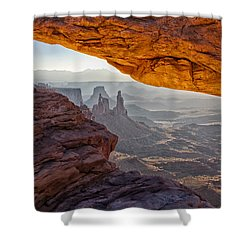 Mesa Arch Shower Curtain