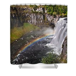Mesa Falls Shower Curtain by Robert Bales