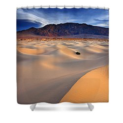 Mesquite Gold Shower Curtain by Darren  White
