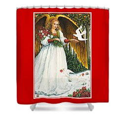 Messengers Of Peace Shower Curtain