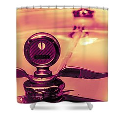 Messko Thermometer Shower Curtain by Bartz Johnson
