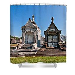Metairie Cemetery 4 Shower Curtain by Steve Harrington
