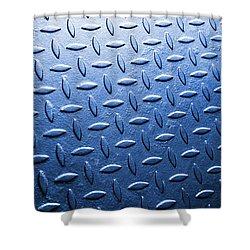 Metallic Floor Shower Curtain by Carlos Caetano