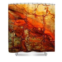 Metalwood Shower Curtain