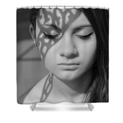 Metamorphosis Shower Curtain by Laura Fasulo
