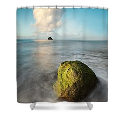Metaphysics Shower Curtain by Matteo Colombo