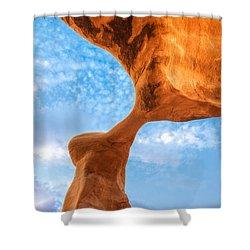 Metate Shower Curtain by Dustin  LeFevre