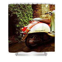 Metropolitan II Charleston Sc Shower Curtain