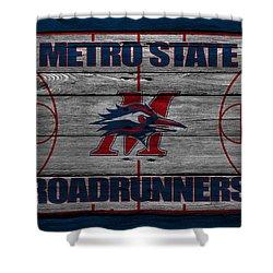 Metropolitan State Roadrunners Shower Curtain