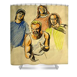 Mettalica Shower Curtain
