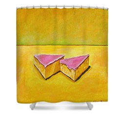 Mexican Pink Cake Shower Curtain by Manny Chapa