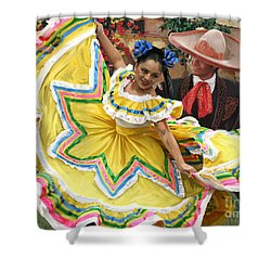 Mexicanhatdance Shower Curtain