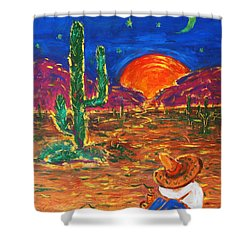 Mexico Impression IIi Shower Curtain
