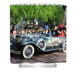Shower Curtain featuring the photograph Mgm Famous 4 by David Nicholls