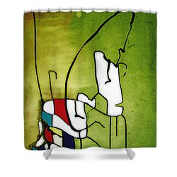 Mi Caballo 2 Shower Curtain