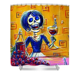 Mi Cabernet Shower Curtain