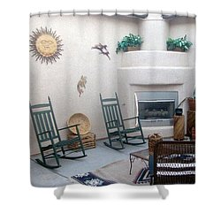 Shower Curtain featuring the photograph Mi Casa Es Su Casa by John Glass