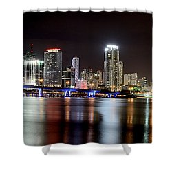 Miami - Florida  Shower Curtain