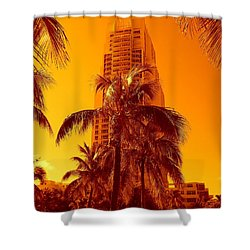 Miami South Pointe Iv Shower Curtain