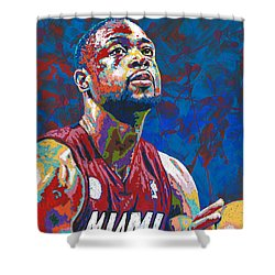 Miami Wade Shower Curtain