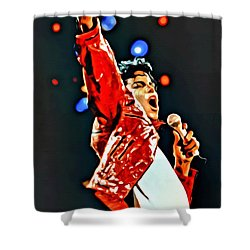Michael Shower Curtain by Florian Rodarte