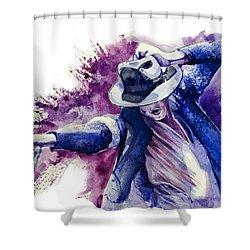 Michael Jackson 10 Shower Curtain