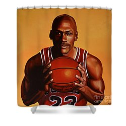 Michael Jordan 2 Shower Curtain