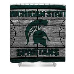 Michigan State Spartans Shower Curtain