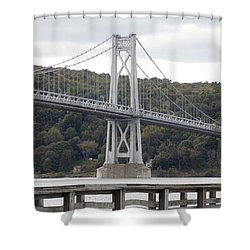 Mid Hudson Bridge Shower Curtain