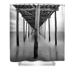 Midday Under The Pier Shower Curtain