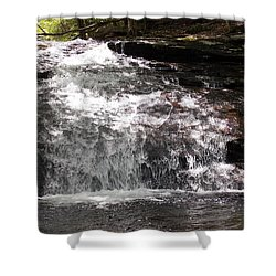 Middle Chapel Brook Falls Shower Curtain