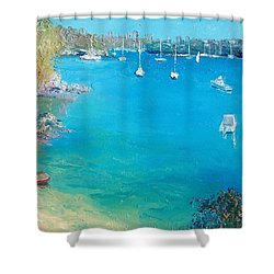 Middle Harbour Sydney Shower Curtain