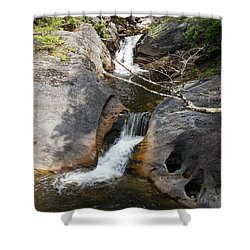 Middle Kent Falls Shower Curtain