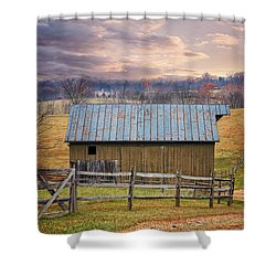 Middleburg Virginia Countryside Shower Curtain